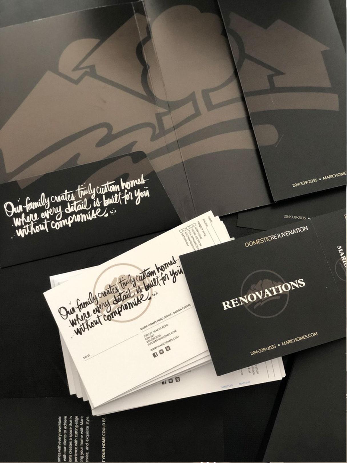 custom presentation folder print